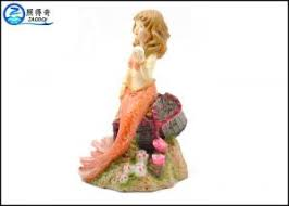 amazing mermaid polyester resin aquarium fish tank decorations