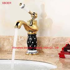 Faucets Wholesale Compare Prices On Gold Bathroom Faucets Wholesale Online Shopping