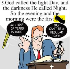 could god really have created everything in six days answers in
