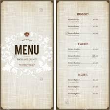wedding menu sles menu sle template 28 images menu design sles from imenupro