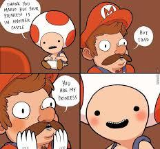 Mario Memes - toad x mario by lea parrot 1 meme center
