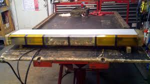 whelen ambulance light bar whelen 96 series strobe light bar 48 12 strobe 12 halogen and pcc s9