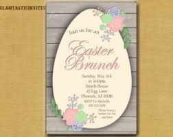 easter brunch invitations easter brunch invitation printable woodland easter brunch