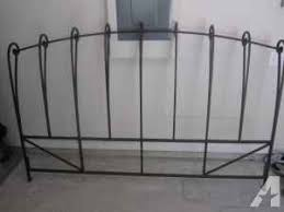 Iron King Bed Frame Pier 1 Wrought Iron King Size Headboard Bed Frame