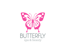 simple butterfly logo design vector vector logo free