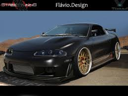 eclipse mitsubishi 2013 mitsubishi eclipse black matte by flaviobauck on deviantart