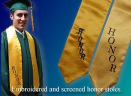 honor stoles uiversity cap gown academic regalia diplomas announcements