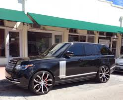 white range rover rims 2014 range rover supercharged exotic cars on the streets of miami