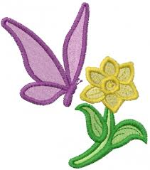 flower and butterfly embroidery designs machine embroidery