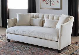 curved sofa with tufted back in linato cream 2 new products