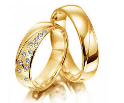 alliances de mariage alliances or jaune dans la boutique 1001 carats