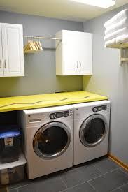 laundry room remodel gold confetti