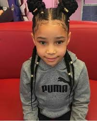 best plaitinhair style fo kids with big forehead braids gang afro hair pinterest kid braids hair style and
