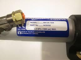 hc5332 ba135 7em teleflex stern drive hydraulic steering cylinder