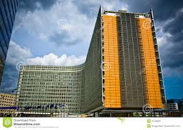 modern architecture in brussels royalty free stock photo image