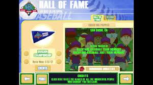 backyard baseball 2003 credits windows youtube