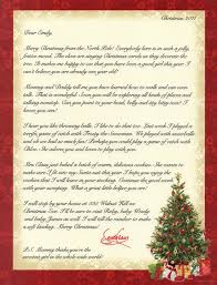 personalized letter from santa personalized letter from santa claus by merrymailbox on etsy 9 00