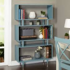 Colored Bookshelves by Wood Bookshelves U0026 Bookcases Shop The Best Deals For Oct 2017
