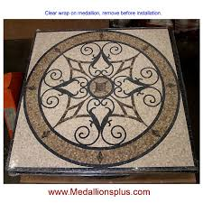 12 best mosaic square marble medallions images on