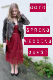ootd spring wedding guest edition talonted lex