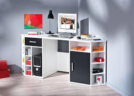 bureau en coin bureau pc design office furniture study wooden computer table
