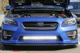 2014 subaru forester light bar did you know you can fit an led light bar onto your subaru wrx
