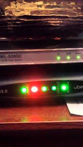 Modem Ds Light Blinking The Orange Light Is On Again Youtube