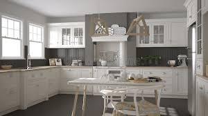 cuisine blanche classique cuisine blanche classique scandinave avec les détails en bois