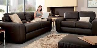 semi aniline leather sofa chloe leather sofa and matching living room furniture at