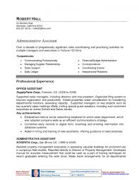 Resumes For Property Managers Assistant Property Manager Resume Template Design