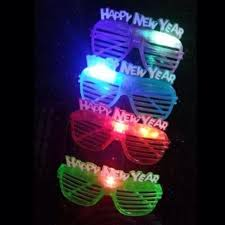 party sunglasses with lights 2018 2016 happy new year led glasses flashing light up eyeglasses
