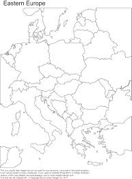 Blank World Map Worksheet by Blank World Map Europe After The Maps For Quizzes Divi Region
