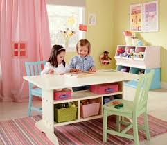 kids table with storage tips for decorating our kids bedroom with multifunctional table