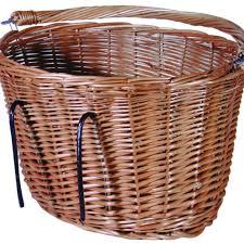 Cane Laundry Hamper by Classic Wicker Bike Basket Front Wicker Basket Cyclechic