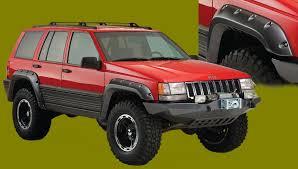 1998 jeep aftermarket parts bushwacker fender flares for jeep grand