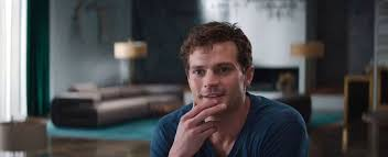 50 shades the scene where christian grey shaves ana s pubic hair jamie dornan s beard is reaching gigantic proportions