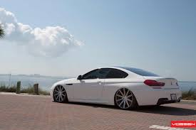 bmw m4 stanced vossen wheels bmw 6 series m6 vossen cv4