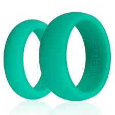 rubber wedding rings for green silicone wedding ring jewerly ideas gallery
