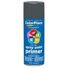 color place gray primer spray 11 oz walmart com