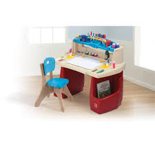 Kids Art Desk And Chair by Step2 Deluxe Art Master Desk With Chair Dining Chairs