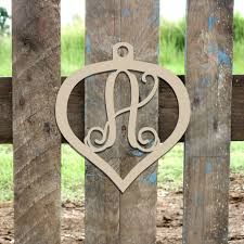 unfinished wooden ornament frame monogram wooden craft
