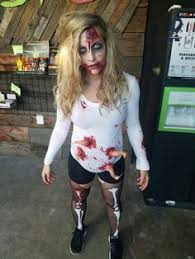 Halloween Costume Zombie Angie Hill Zombie Waitress Spooktacular Costumes