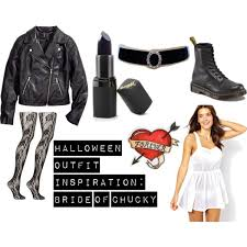 halloween idea bride of chucky polyvore