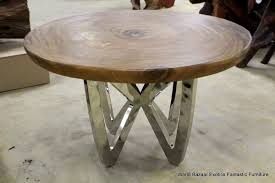 Dining Table Metal Legs Wood Top Fabulous Metal And Wood Round Dining Table With Black Legs 2017