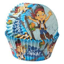 disney jake land pirates cupcake liners wilton