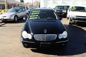 2002 mercedes c320 black 4dr wagon used car sale