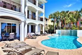 destin florida usa luxury 6 bedroom gulf view home game