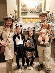 Halloween Family Costumes With Baby by Our Halloween Story Zookeeper Family Mommy Diary