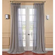 Grey Sheer Curtains Grey Sheer Curtains For Less Overstock