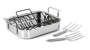 Calphalon Stainless Steel Toaster Roasting Pans U0026 Racks